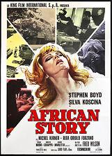 CINEMA-manifesto AFRICAN STORY boyd, koscina, kirner, forzano, WILSON