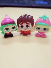 Disney Doorables Wreck-it Ralph Candlehead Taffyta 3pc set mini Collectibles toy