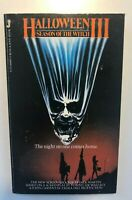 1982 HALLOWEEN III PBO MOVIE TIE IN JOVE Jack Martin Season of the Witch