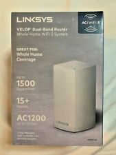 LINKSYS VELOP VLP0101-NP Dual Band AC1200 Mesh WiFi System NEW IN PLASTIC