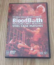 WWE - Bloodbath (DVD, 2003, 2-Disc Set, Two Disc Set)