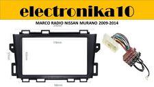 Soporte Marco radio 2din embellecedor Nissan Murano 2009 2014 conector iso