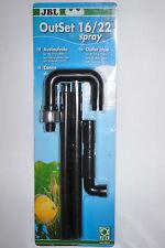 JBL inizio SPRAY 16/22 CP e1500 / 1E tutti altri filtri con tubo 16/22