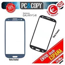 CRISTAL DE PANTALLA TACTIL PARA SAMSUNG GALAXY S3 i9305 TOUCH SCREEN  LCD AZUL