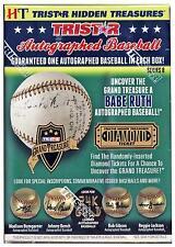 2018 TRISTAR HIDDEN TREASURES AUTOGRAPH BASEBALL BOX LIVE BREAK MLB-1 TEAM #825