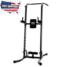 Vertical Knee Raise Dip Pull-up Station Fitness Power Tower Training Back Muscle