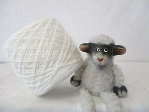 """Wolle-Bändchengarn 100g/2,70€ """"elfenbein"""" Baumwolle-PAN Patchwork-stricken"""