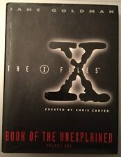 The X Files Book of The Unexplained Vol 1 HardBack Book by Jane Goldman 1996