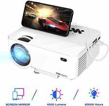 "Neues AngebotTopVision Mini Projektor 4500 Lumen HD 1080p 180"" Display + Screen Mirroring"