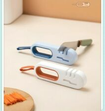 New listing New Multifunction Sharpener Style 4 in 1 Easy to Knife and Scissors Sharpening.