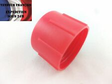 Bouchon Femelle AN / Dash 16, plastique rouge VENDEUR FRANCAIS