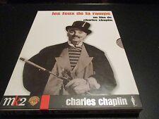 """COFFRET COLLECTOR 2 DVD """"LES FEUX DE LA RAMPE"""" Charlie (Charles) CHAPLIN"""