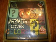 Wendy's Wendy Loves Color baby book Thick Cardboard for Durability 2012 0+ NIP