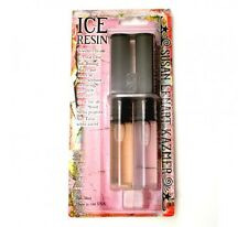 Ice Resin Syringe Self Doming Jewelry Resin 1 oz