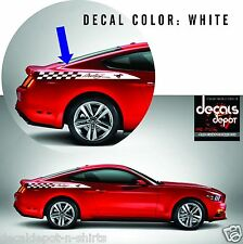 Quarter Panel Stripes Fits Mustang Shelby Gt 350 Convertible Fastback Ecoboost