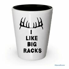 Hunting Shot Glasses - I Like Big Racks (2)