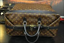LOUIS VUITTON XL Leather Weekend Travel Duffle Doctor Gladstone Mens Bag