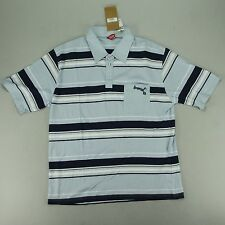Animal Stripe Pocket Polo Shirt Brand New in Blue in Size XL.