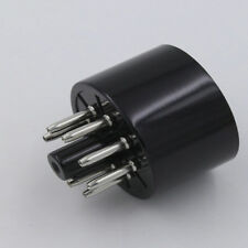8pin bakelite tube socket valve base triode rectifier forKT88 EL34 6550 6SN7 LJ