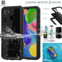 For Samsung Galaxy A21 Case Waterproof Shockproof Dirt Proof Underwater Cover