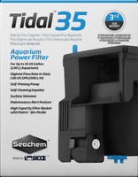 SEACHEM TIDAL 35 HOB POWER FILTER  by SICCE  ( UP TO 35 GALLON )