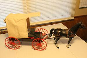 marx johnny west wagon with custom top