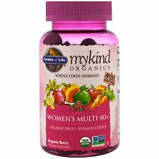 Mykind Women's 40+ Multi-Berry 120 Gummy  By Garden of Life exp 2/22
