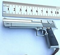 Desert Eagle Keyring Large Metal Pistol Keychain Glo ck Model Gun Keyring G18 DE