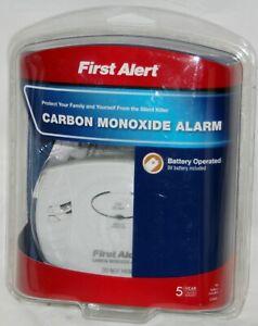 First Alert CO400 Carbon Monoxide Alarm Detector