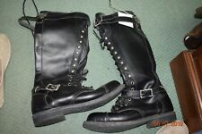 Harley-Davidson Womens/Mens Motorcycle boots Size 8 M Lace Up