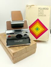 Vintage Polaroid SX-70 Camera With Box