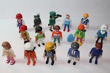 Playmobil 15 unidades diverse figuras personas colección lot 16 colección 0,21 kg