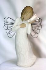 Willow Tree ANGEL ocean SEASHELL sea shell Thinking of You Wedding Shower gift