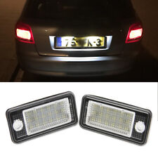 For Audi A6 A8 Q7 RS6 A4 S4 RS4 (B6, B7) A3 S3 Canbus LED License Plate Lights