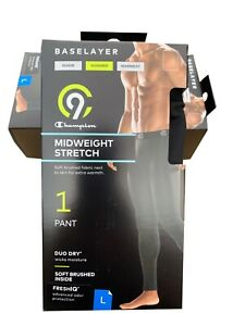 """C9 By Champion® Men's Midweight Stretch PANT 1-pack  """" BASELAYER & WARMER """""""