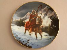 Mystic Warrior Collector Plate- Blue Thunder- By Chuck Ren- 1992