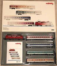 HO Marklin  #2862 Demonstration Train - DB Express Loco and 4 Passenger cars