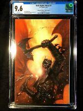 "Dark Nights"" Metal #1 VIRGIN VARIANT Dell Otto Bulletproof comics CGC 9.8"
