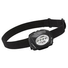 Princeton Tec QUAD Industrial 78 Lumen 4-LED Headlamp Head Light Black