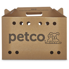 "Petco Cardboard Cat Carrier, 18.5"" x 9"" x 12"""