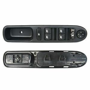 Commande Bouton Lève-Vitre Electrique pour Peugeot 307 & SW & CC 6554.KT 6554KT