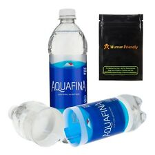 Aquafina Diversion Safe Water Bottle Stash Can w HumanFriendly Smell-Proof Bag