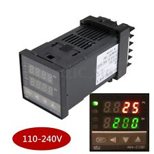 Digital 0 to 1300℃ PID Temperature Controller & 40A SSR & K Thermocouple Sensor