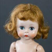 """Vintage 1950s Madame Alexander 8"""" Wendy - SLW - Strawberry Blonde Triple Stich"""