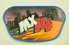 """Aucune plaque Pour Raleigh MX14 bmx, la plupart 14 """" & 16"""" vélos bmx, go karts, soap box wacb78"""
