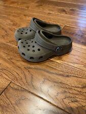 Crocs Slate Gray Slip On Toddler Shoes Unisex Size 6