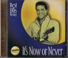 Presley, Elvis It's Now Or Never Zounds 24 Kar. Gold CD