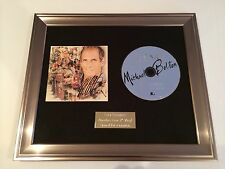 PERSONALLY SIGNED/AUTOGRAPHED MICHAEL BOLTON - DUETS FRAMED CD PRESENTATION.RARE