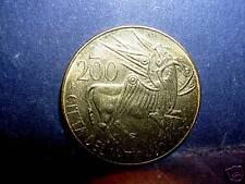 VATICANO  Giovanni Paolo II 200 Lire 1985 FDC ( UNC)
