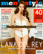 Australian Men's Style 10/13,Lana Del Rey,October 2013,NEW